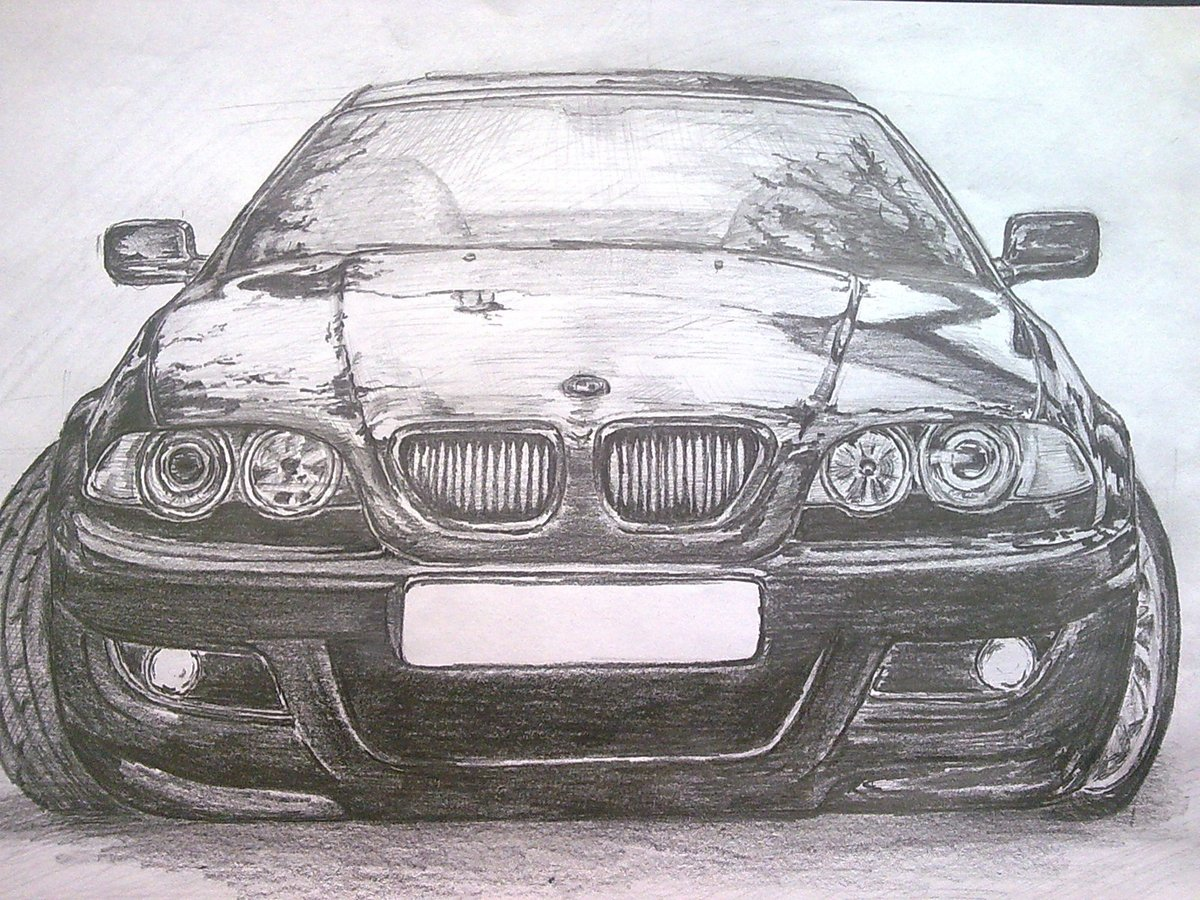картинки рисовать авто первые годы