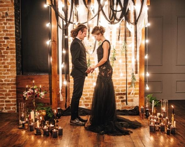свадьба в стиле лофт фото