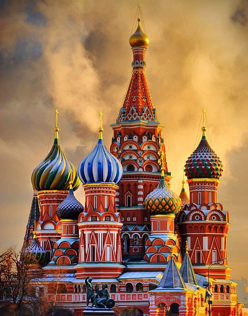 Открытки красивые в москве