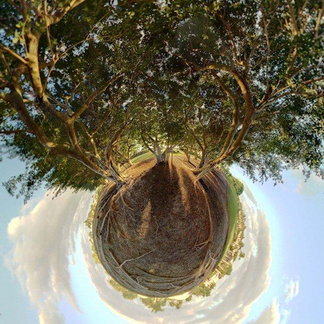 перспектива в фотографии в фотошопе