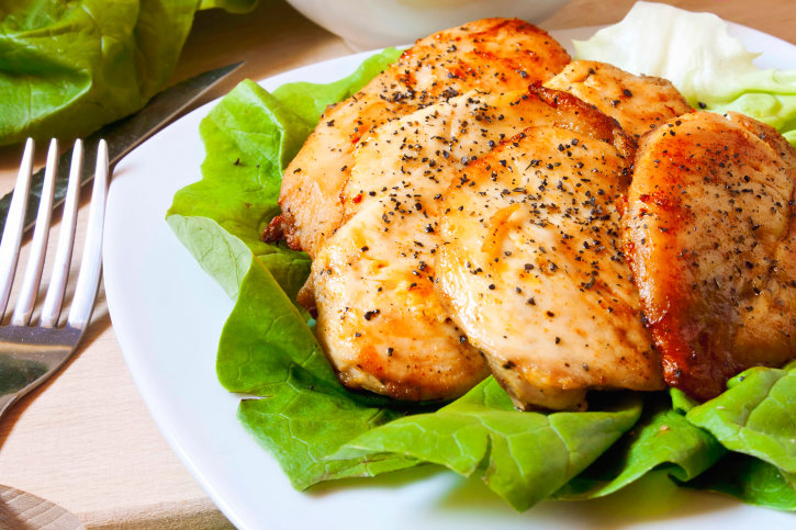 куриная грудка запеченная в духовке при диете