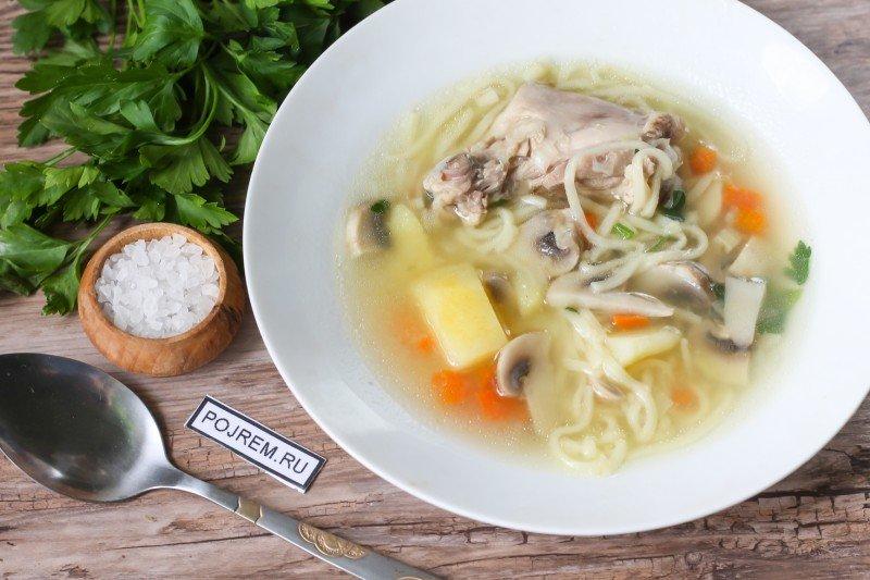 Суп с лапшой - рецепты с фото на Повар. ру (79 рецептов) 65