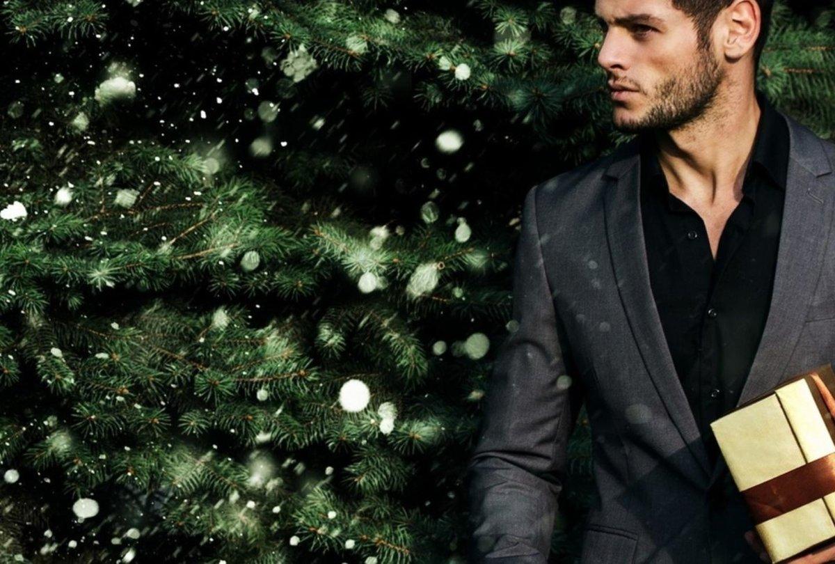 белом новогодние картинки мужские открыто