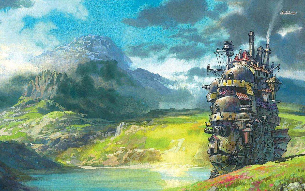 Миядзаки картинки из мультфильма ходячий замок, надписью аватар