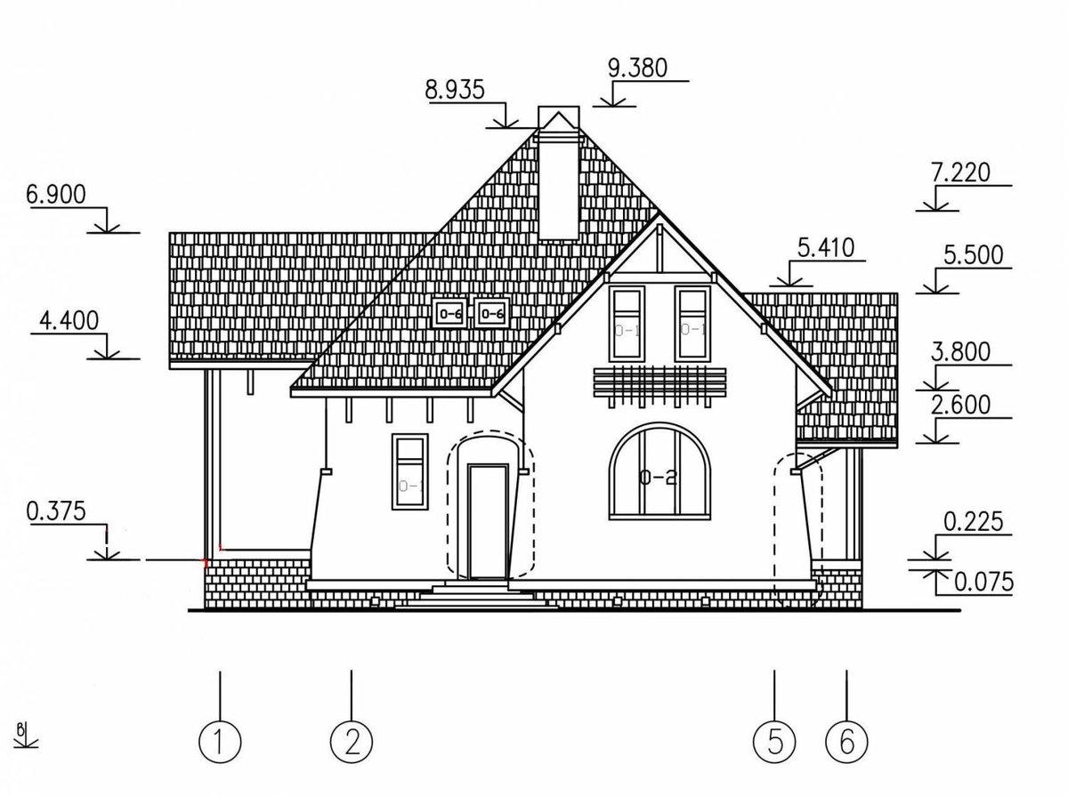 Чертежи и картинки домов
