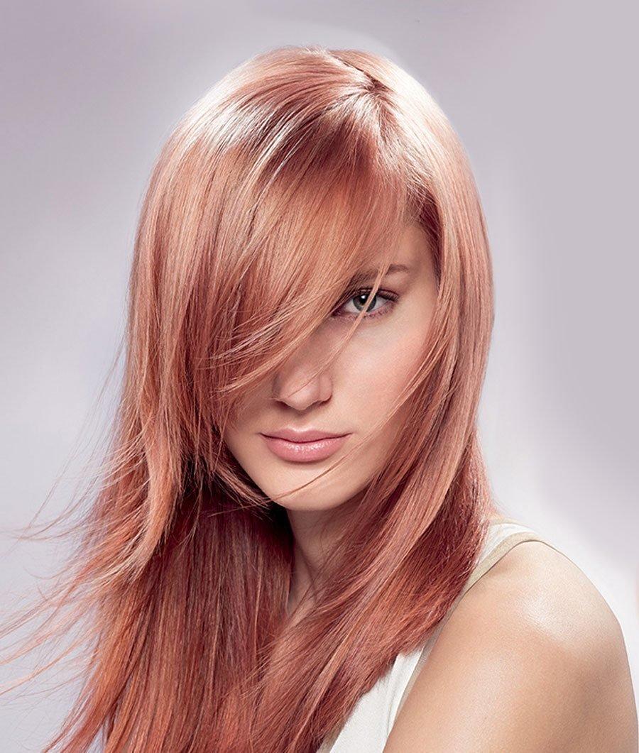 Окраска волос в один тон фото