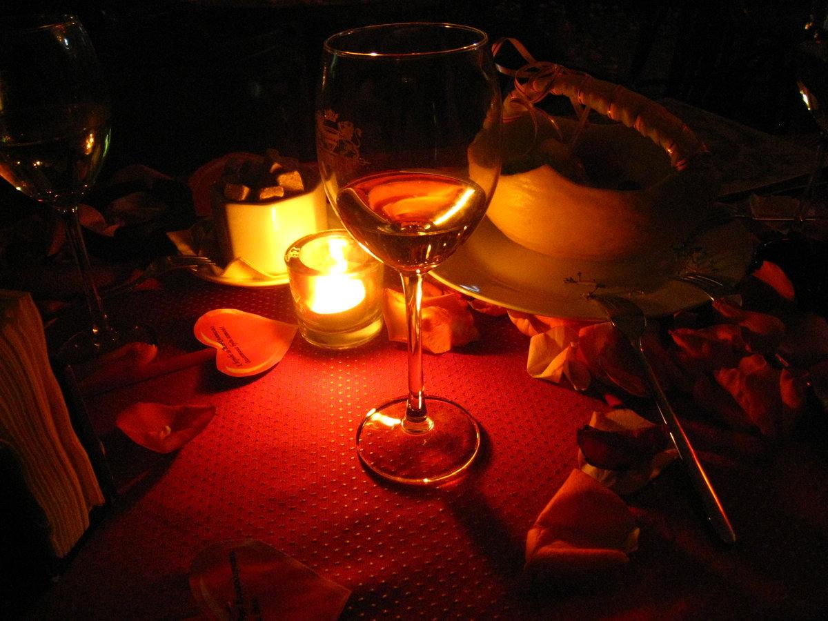 Картинки ужин при свечах романтика