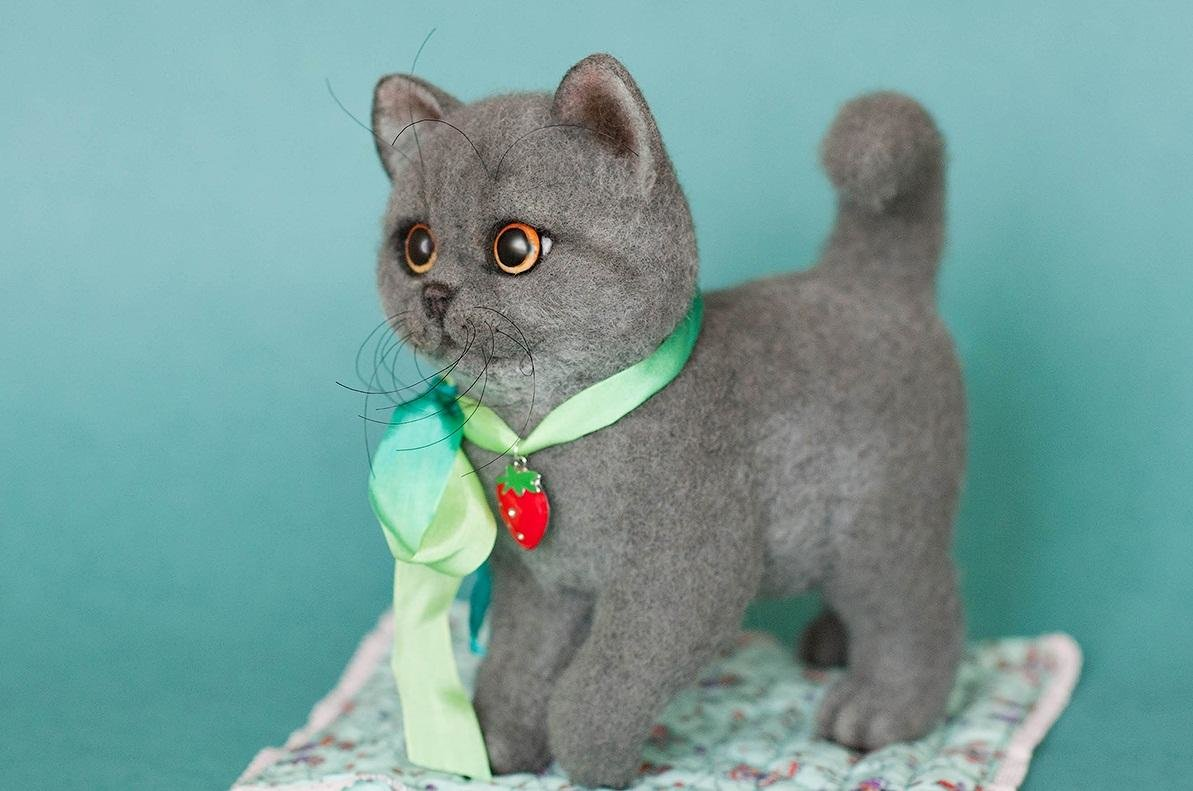 валяный котик фото мебельной промышленности