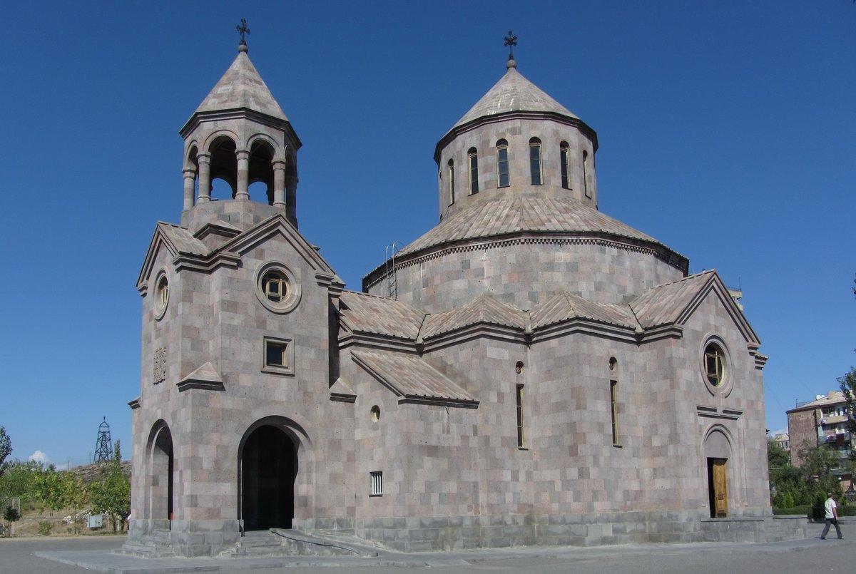 Срыв армянской церкви