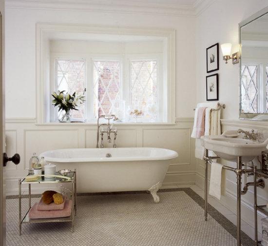 Чудесная милая ванная в стиле Прованс.