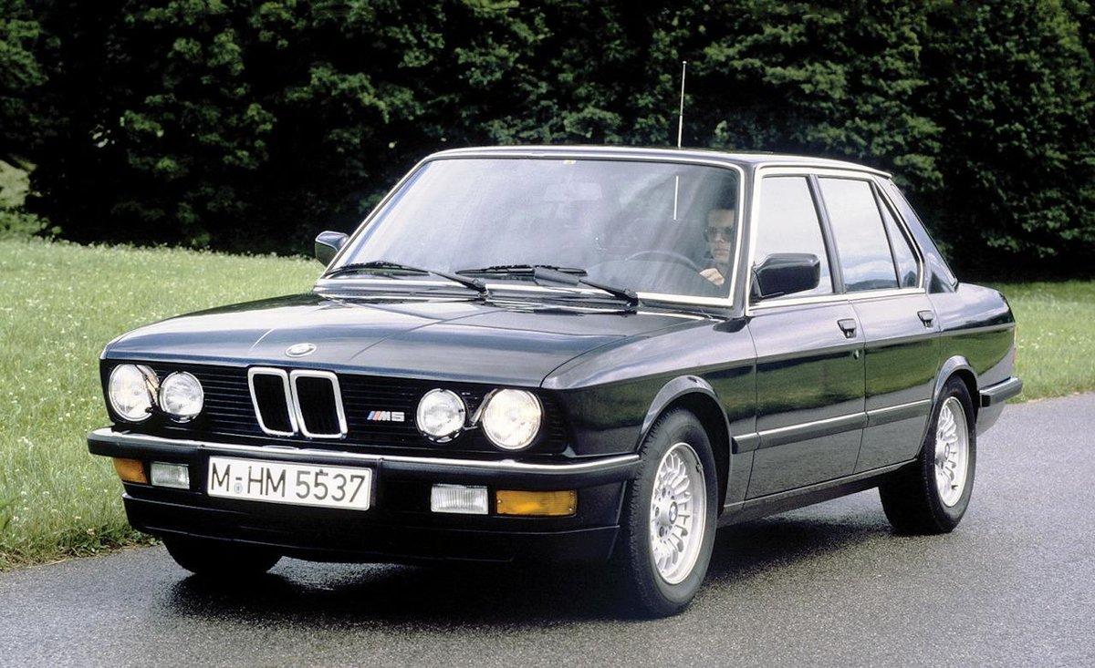 Bmw m5, 1984. \