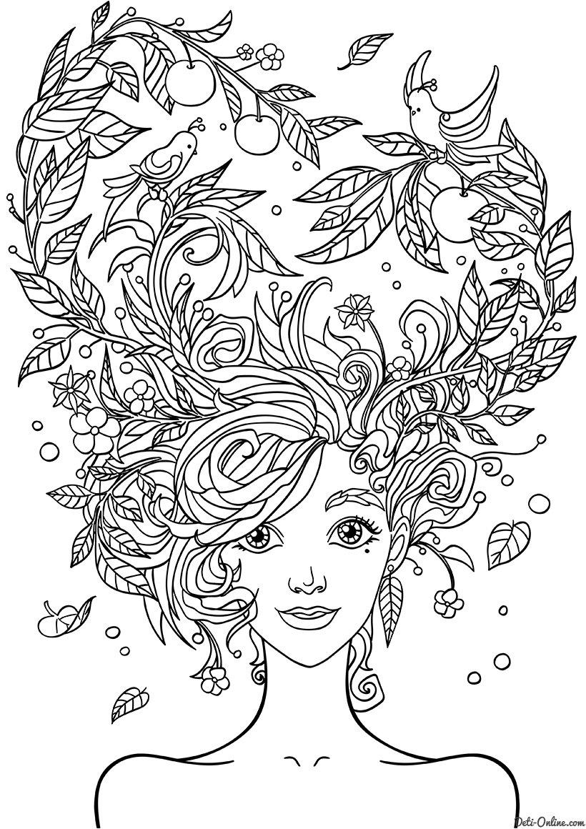 Днем рождения, картинки раскраски для девочек 10 лет крутые распечатать антистресс