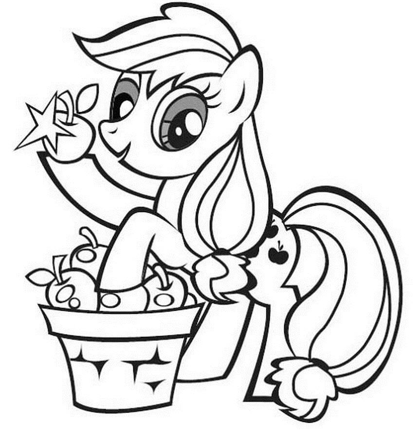 Раскраска мой маленький пони: дружба – это чудо найтмэр рарити.