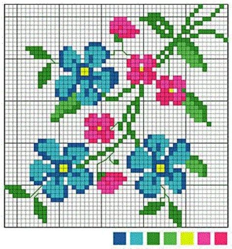 Вышивание крестиком фото цветы