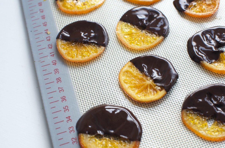 апельсин в шоколаде рецепт с фото цветки