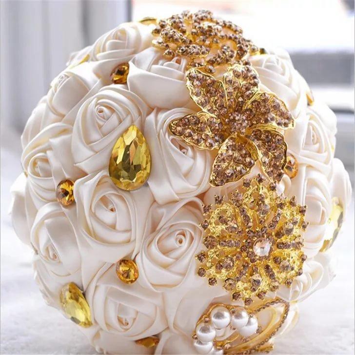 Магазин растений, букет на золотую свадьбу заказать