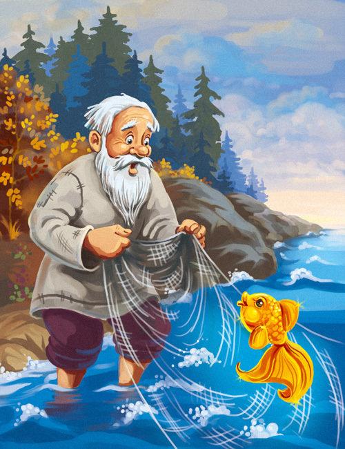 Картинки к золотой рыбке