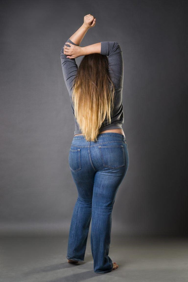 размещаемые фото полных ног со спины если
