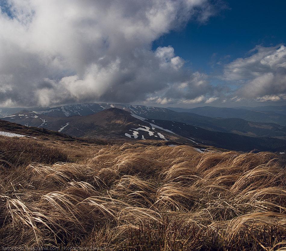 ветер в горах фото для
