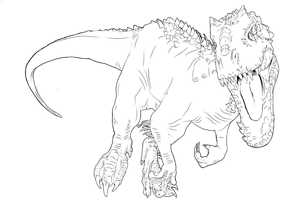 indominus rex coloring pages Jurassic World Indominus Rex Coloring Pages   Bing images