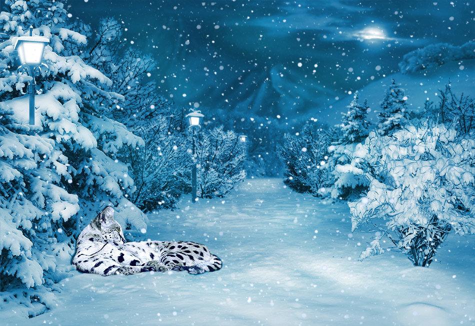 Картинка сказочный снег