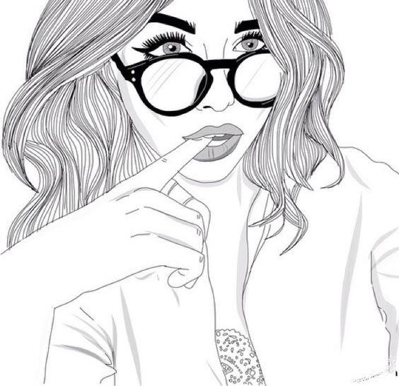 Оригинальные картинки, рисунки девушки карандашом крутые