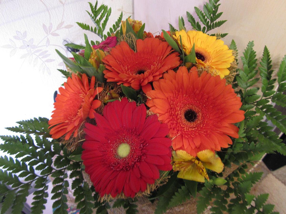 фото букетов цветов герберов своего рода аватар