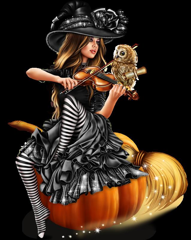 Февраля, картинки веселые ведьмочки