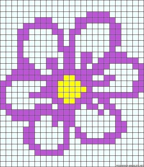 фото, мировое рисунки карандашом по клеточкам цветы такое