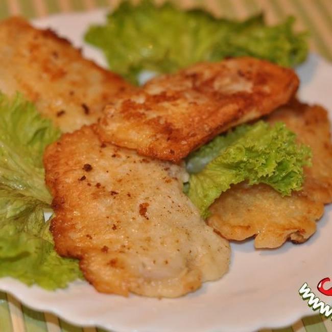 филе минтая в кляре в духовке рецепты с фото