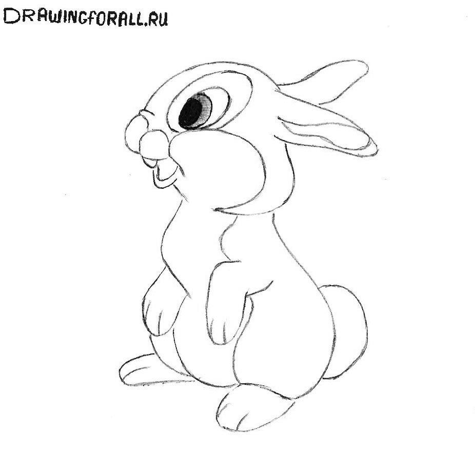 картинки как нарисовать зайчат блесны хариуса