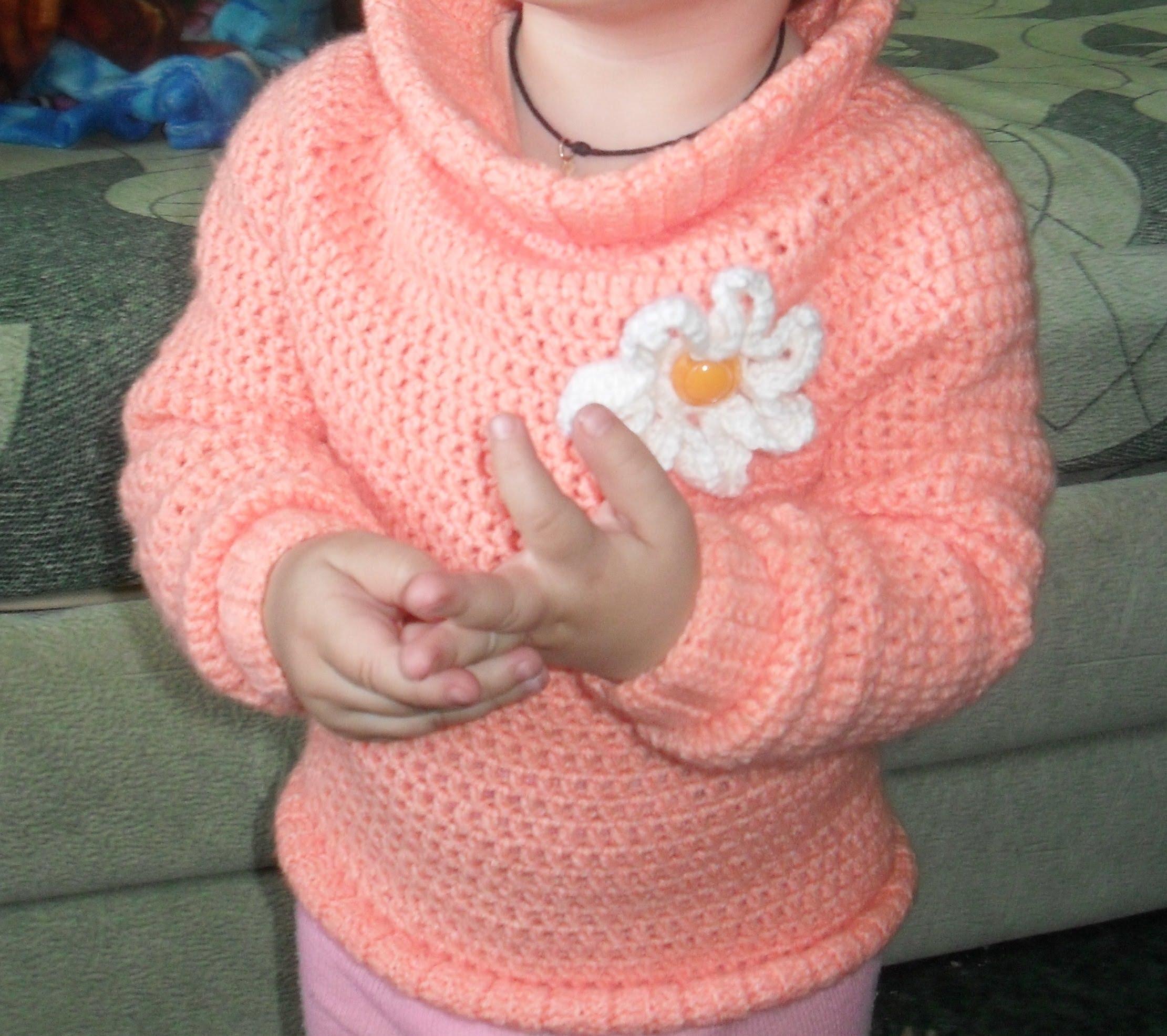 вязание детского свитера крючком Youtube Card From User