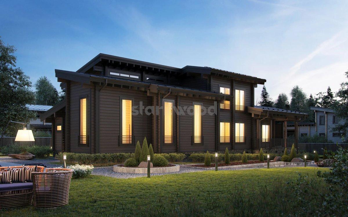 Виды пристроек к деревянному дому фото