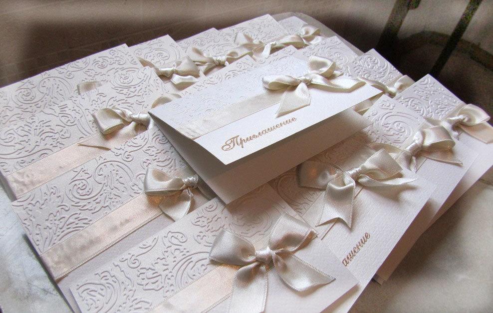 Открытка на свадьбу пример