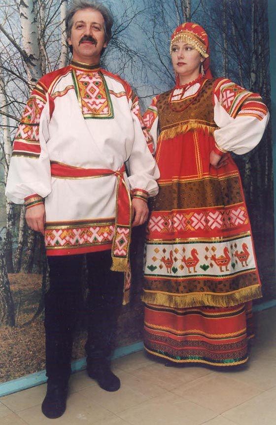 Картинки национальный костюм русских