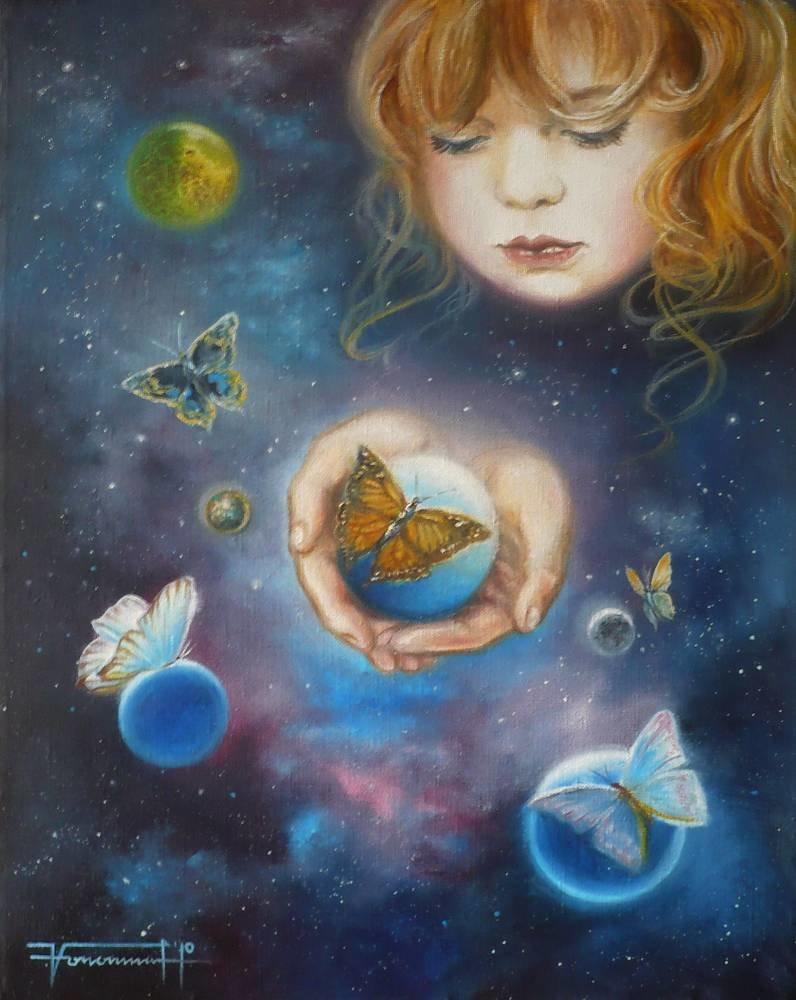 Дети вселенной картинка