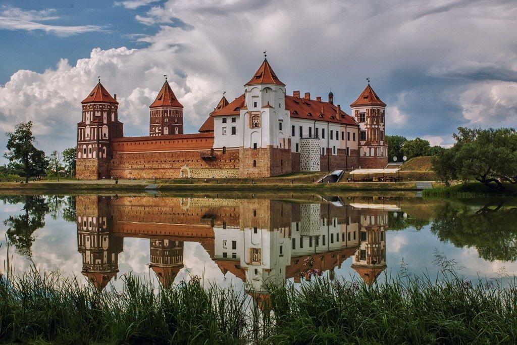 Картинки мирского замка в белоруссии