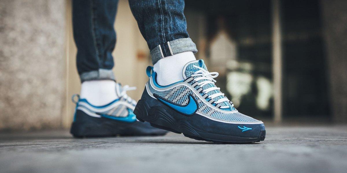 Nike STASH X AIR ZOOM SPIRIDON 16' SNEAKERS 65rBAF5j