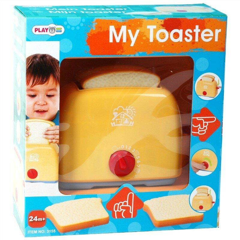 Купить Игровой тостер розовая серия (бренд «PLAYGO», артикул Play 3155G) в Интернет-магазине «Миллион Игрушек» за 350 руб