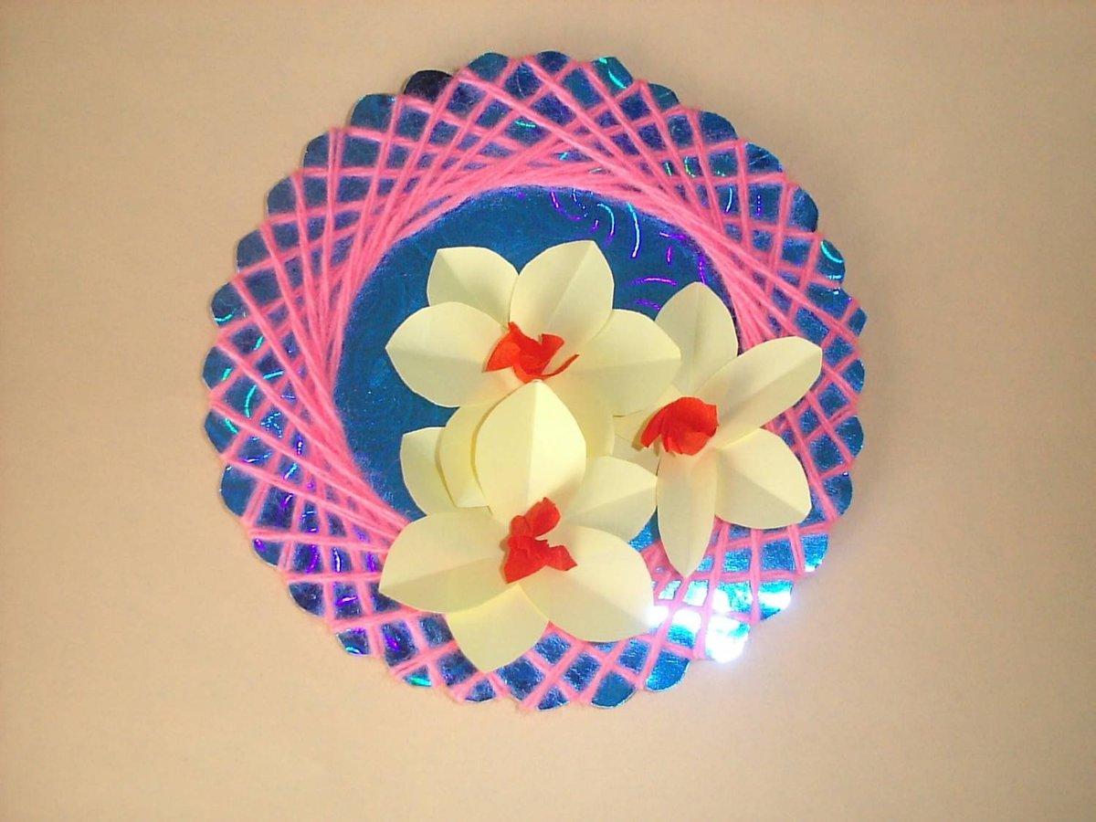 Они будут состоять из двух частей: самого цветочка и сердцевины.