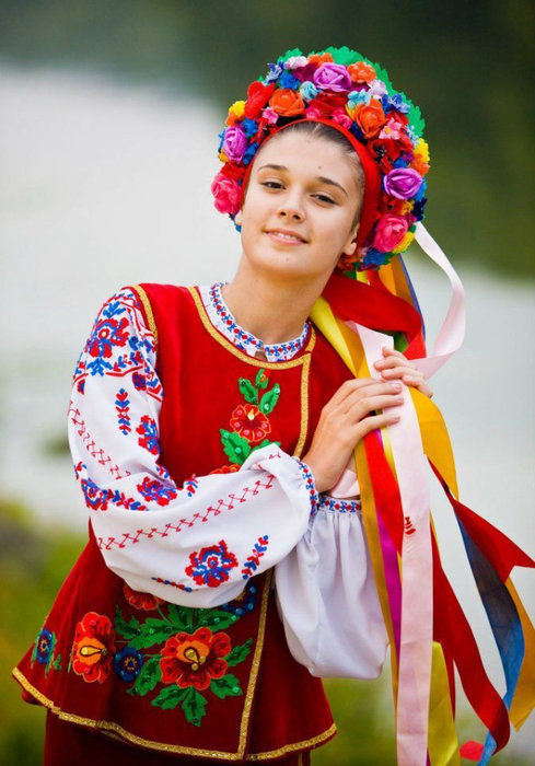 Национальная одежда украинцев картинка
