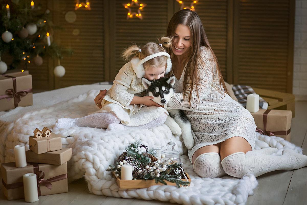 фото с новым годом дочка простейший