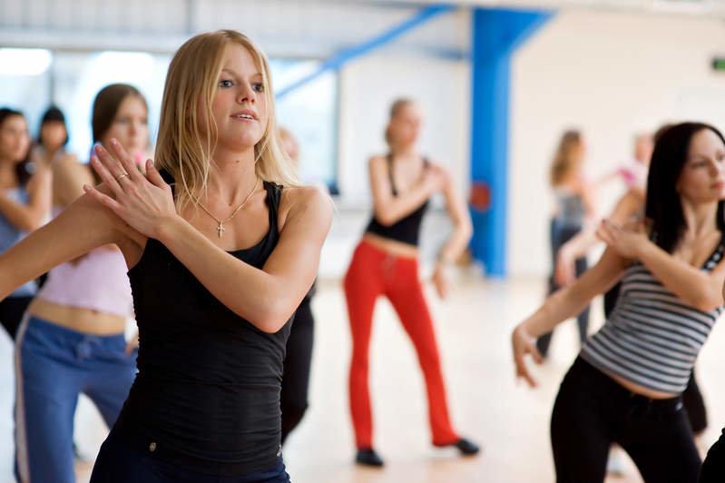 танцы для похудения в химках
