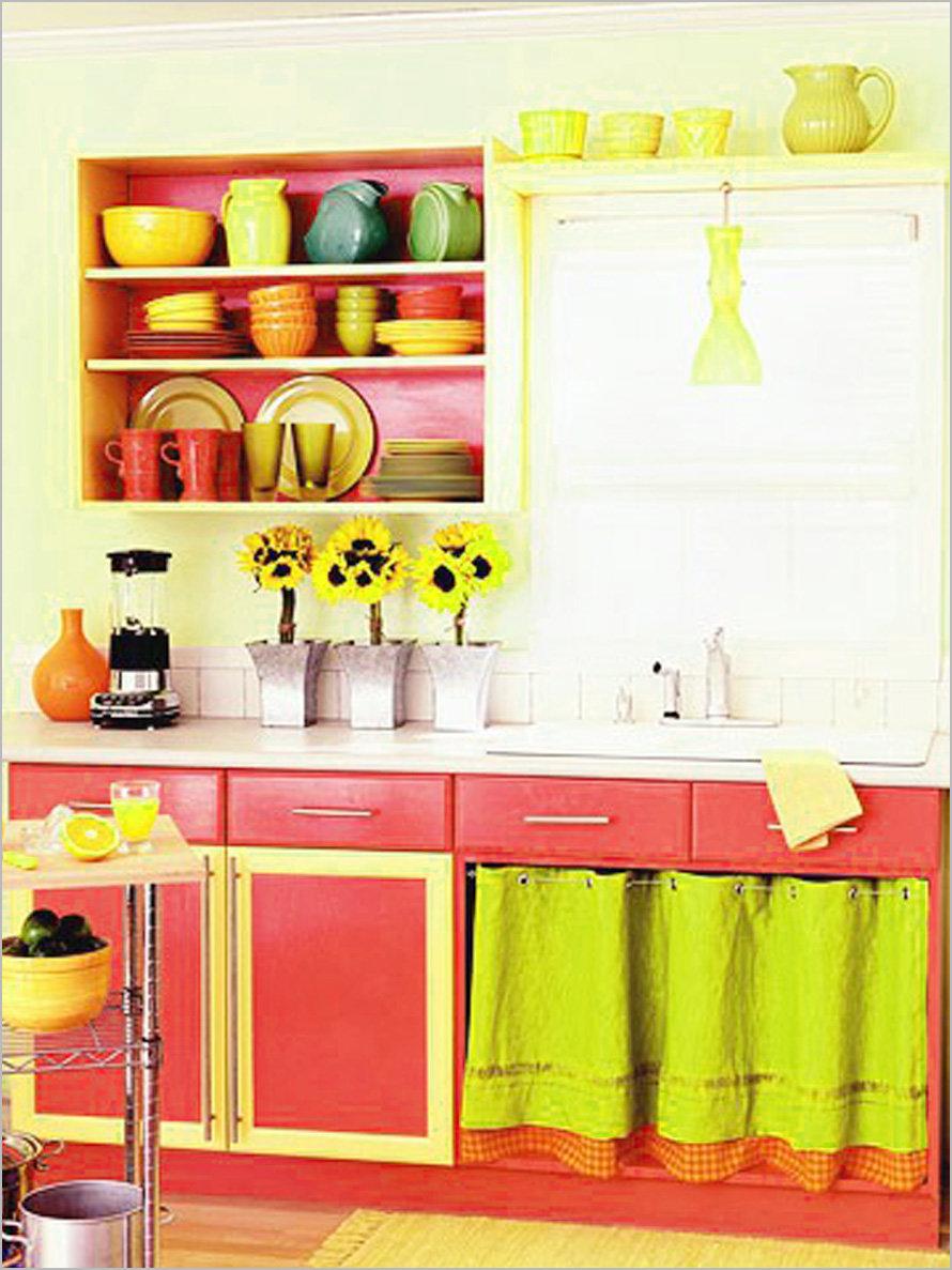 яркая кухня своими руками фото участвуем всем, что