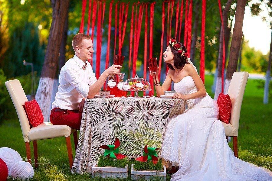 идеи оформление свадебной фотосессии придумали