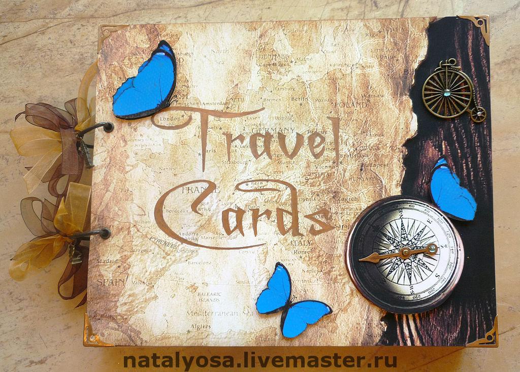 Надпись на открытке из путешествия, днем