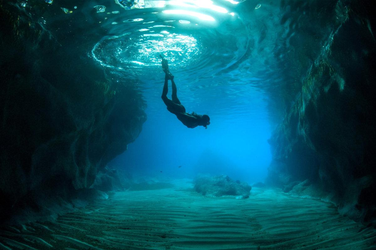 Красивые фото под водой это