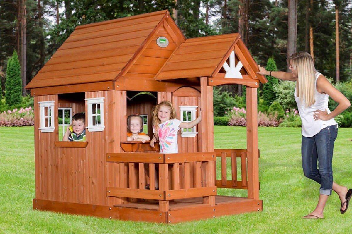 Из чего сделать домик для детей на улице своими руками фото 686