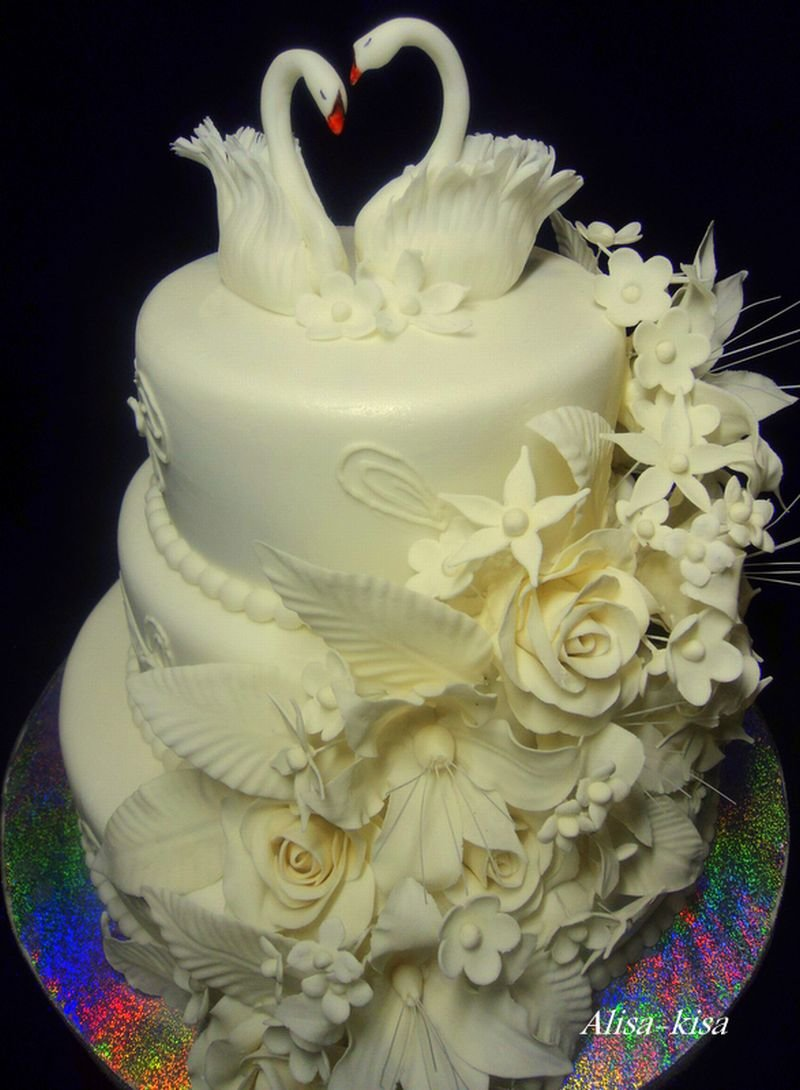 что фото лебедей на торт молодежи здесь будет