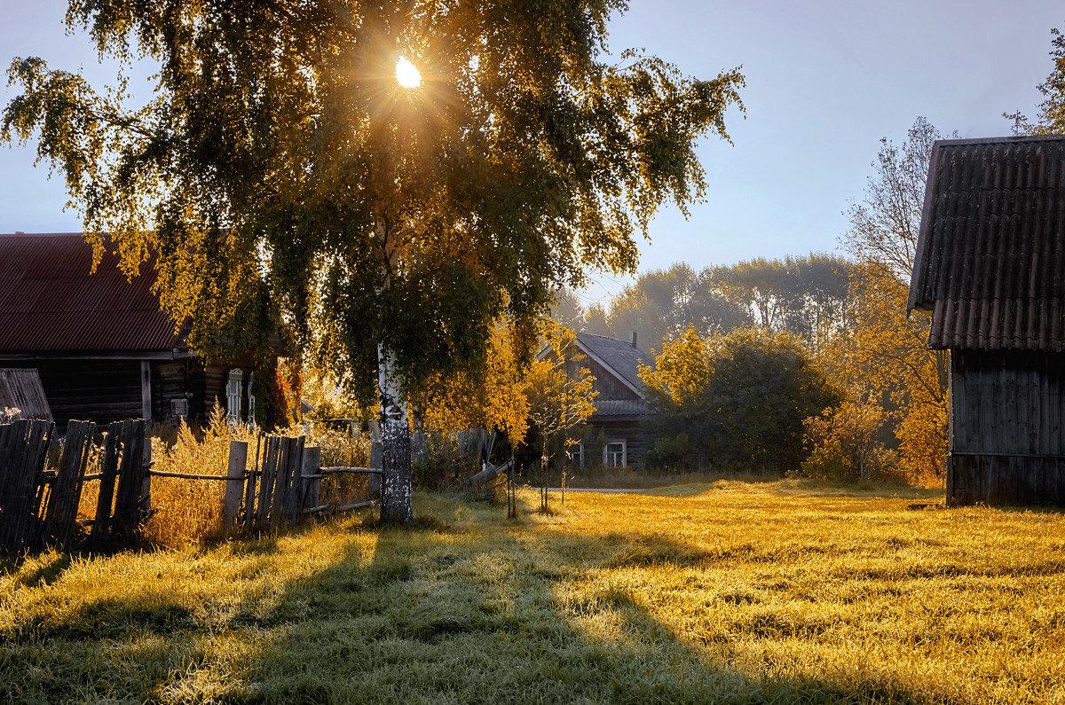 Картинки красивые про деревню